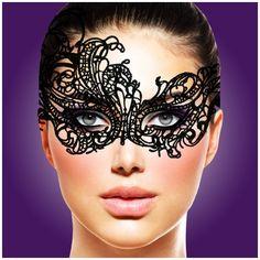 Maska - Rianne S - Mask IV Violaine. Uwodzenie jest najlepsze, gdy uwodzisz go sobą... Z pomocą przyjdzie Ci namiętna maska || #prezent #inspiracje #dlaNiej #dla Niego #prezentnarocznicę #striptiz #karnawał #wieczórpanieński #pomysłnarandkę #odAlicji #namiętnybutik