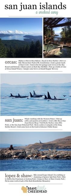 How to Spend a Weekend in the San Juan Islands | The Brave Little Cheesehead