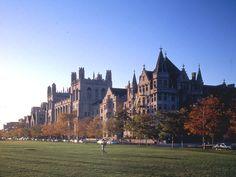 University of Chicago- reminds me of Hogwarts!