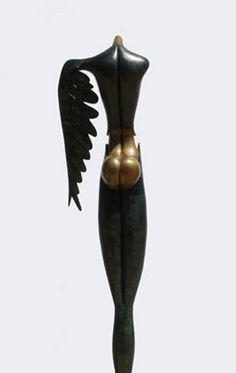 Paul Wunderlich Bronze Sculpture