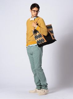 Men's tote / ShopStyle(ショップスタイル): Levi's Made & Craftedトートバッグ