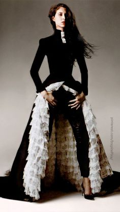 isabella - Givenchy by Alexander McQueen, Haute Couture Spring-summer 1999. Find your #photography #inspirations at #MonicaHahnPhotography.