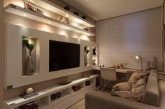 Pajama Lounge Room Set Up And Project - Onechitecture Best Interior Design, Luxury Interior, Home Decor Instagram, Ruang Tv, Tv Cabinet Design, Cozy Family Rooms, Plafond Design, Design Salon, Home Tv