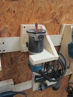 French Cleat Tool Storage for Routers & Drills...