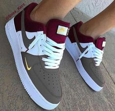 New Pairs Of Sneakers. Searching for more information on sneakers? In that case simply click right here to get extra information. Sneakers have been an… Nike Shoes Blue, Nike Shoes Air Force, Jordan Shoes Girls, Girls Shoes, Cute Sneakers, Sneakers Nike, Sneakers Design, Red Sneakers, Tenis Nike Air
