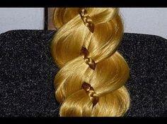 Schnelle Frisuren:Alltag/Schule/Uni/Freizeit.Zopffrisuren.ROMANTIC Braid Hairstyle.Peinados - YouTube