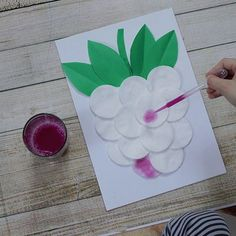 Cool Paper Crafts, Paper Flowers Craft, Cute Crafts, Flower Crafts, Hand Crafts For Kids, Daycare Crafts, Art For Kids, Preschool Art, Preschool Activities