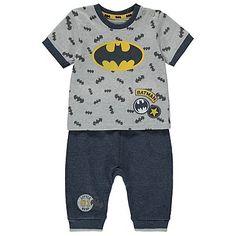 DC Comics Batman T-Shirt and Joggers Set | Baby | George at ASDA