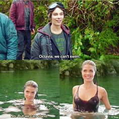 good old days..#the100