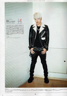 Taeyang (태양) - RUDO Magazine (October 2014)