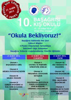 10. Başağrısı Kış Okulu: http://www.tumkongreler.com/kongre/10-basagrisi-kis-okulu #pain #headache #neurology #istanbul