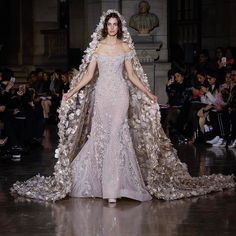 George Hobeika Spring Summer Haute Couture 2017 amazing wedding gown