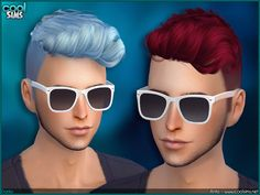 Sims 4 CC's - The Best: Hair for Men by Alesso