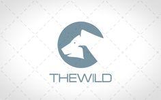 Creative Bear and Bird Logo For Sale #logo #logos #lion #design #website #vector…