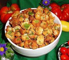 The Bestest Recipes Online: Fried Okra