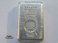 100 Gram brand new Geiger 999 Silver bar Bullion with security features Listing in the Silver Bullion,Bullion & Bars,Coins & Banknotes Category on eBid United Kingdom