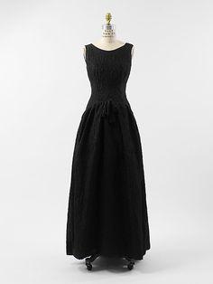 Designer: Cristobal Balenciaga (Spanish, 1895–1972) Date: ca. 1962
