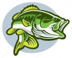 google images clip art free of fish largemouth bass fish fly rh pinterest com Fish Printables Microsoft Clip Art Birds