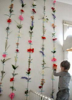 Criatividade na parede