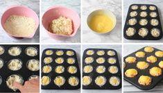 Hastbullar med vaniljkräm - Lindas Bakskola & Matskola Muffins, Food And Drink, Eggs, Baking, Breakfast, Desserts, Recipes, Kaffe, Cocktail