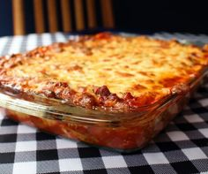 The Best Damn Lasagna on Earth!