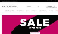 ArtePiedi - Γυναικεία Παπούτσια και Ρούχα | Online Καταστήματα - Webfly.gr
