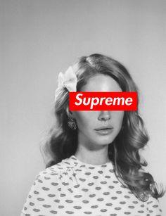 Lana Del Rey #LDR #Supreme
