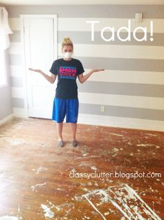 Do you have #hardwoodfloors underneath old carpet? Find out how to remove it and #refinish the hardwood here!