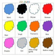 Colors/Renklari