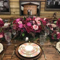 #tabletoptuesday || @esperanzaestatevenue created this fabulous tabletop design with our rentals this past weekend for a Bridal Show at the Fort Lauderdale Convention Center. Our clients are loving the versatility we offer with our products + being able to design their own table design. || #chargerplates #chargers #flatware #glassware #china #dinnerware #rentals #decor #design #wholesale #tabletop #tablescape #tablesetting #tabledesign #farmtable #rustic #elegant #expo #events #wedding…