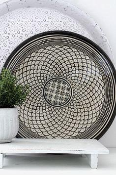 Beautiful ceramic plate