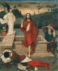 Dieric Bouts - The Resurrection. 1455