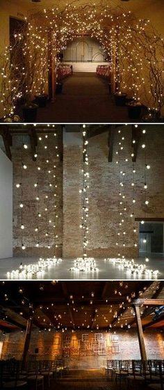 Indoor Wedding Receptions Decorations Ideas - Wedding Photo Ideas - Visit here : http://www.weddingspow.com