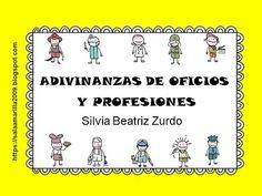 ADIVINANZAS DE OFICIOS Y PROFESIONES - YouTube Mayo, Comics, Books, Youtube, Learning Games, Working Man, Children's Books, Libros, Book