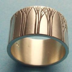 Kanuka Grove Ring by ashhilton on Etsy- this page has awesome stuff!