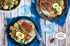Rump Steak with Warm White Bean and Tomato Salad | Marley Spoon