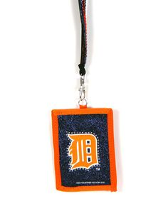 Another great find on #zulily! Detroit Tigers Lanyard Wallet #zulilyfinds