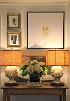 Tailored vignette in Barbara Cosgrove's home