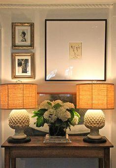 Tailored vignette in Barbara Cosgrove's home
