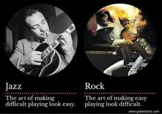 Difference between Jazz and Rock