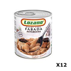 Bestelling Fabada Asturiana PN400 Gr - Lozano