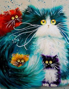 Big Eyed Cats