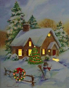 merry christmas wishes Morning My Love You Christmas Scenery, Merry Christmas Images, Vintage Christmas Images, Christmas Past, Cozy Christmas, Retro Christmas, Christmas Wishes, Christmas Pictures, Beautiful Christmas