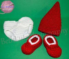 Handmade Crochet Newborn Photo Prop Baby Elf by Hooked4Babies