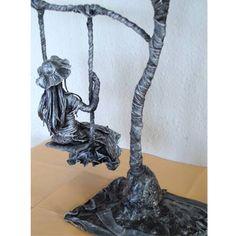 Figura hecha con Paverpol (producto endurecedor)