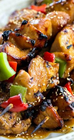 Grilled Asian Chicken ~ An amazing asian marinade that makes this grilled chicken fantastic!