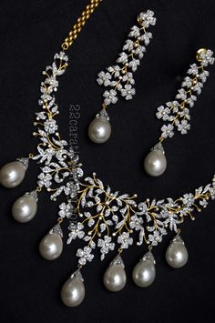 Indian Wedding Jewelry by POKARNNA GEMS +919885034956 Hyderabad, India