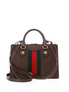 GUCCI Gucci Animalier Leather Top Handle Bag