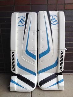 Hockey Pads, Goalie Pads, Hockey Goalie Equipment, Goalie Gloves, Blue Accents, Fun Stuff, Air Jordans, Masks, Light Blue