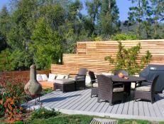 Designer's Deck Gets a Modern Mountain Makeover   Outdoor Design - Landscaping Ideas, Porches, Decks, & Patios   HGTV